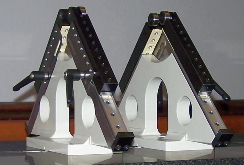 Precision Roller Blocks Adjustable With Gauges